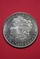 1878 S UNCIRCULATED VAM 17C TOP 30 HIT LIST 40 R6 MORGAN SILVER DOLLAR OCE 024