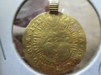 1733 HUNGARY GOLD DUCAT COIN IN ABOUT UNCIRCULATED CONDITION