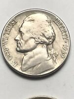 1939 S JEFFERSON NICKEL FINE GREAT COIN FOR YOUR COLLECTION LOT V27