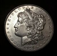 1878 $1 MORGAN SILVER DOLLAR 8 TF VAM 14.2 BU