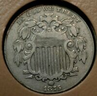 1875 SHIELD NICKEL EXTRA FINE  EXTRA FINE    PART OF A HUGE ESTATE COLLECTION