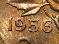 1956 SF CENT FILLING IN 9; NOT LISTED IN ZOELL CATALOGUES