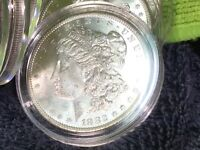 1888- O MORGAN SILVER DOLLAR UNC FROM MINT ROLL IN AIRTITE -19 AVAILABLE-U GET 1