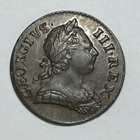 1771 HALF PENNY GREAT BRITAIN KM 601   ABOUT UNCIRCULATED AU