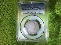 1802 LARGE CENT DRAPED BUST PCGS GENUINE ENVIRONMENTAL DAMAGE-G DETAILS