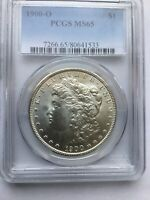 1900-O MORGAN SILVER DOLLAR PCGS MINT STATE 65
