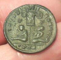 ABOUT EF FOR TYPE  19.5MM 3.29G CONSTANTINE I FOLLIS TREVERI 320 1 AD.