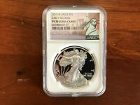 2015-W SILVER EAGLE PF70 ULTRA CAMEO EARLY RELEASE NGC