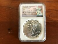 2015 W  SILVER EAGLE EARLY RELEASES MS70 NGC