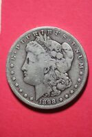 1898 S MORGAN SILVER DOLLAR LIBERTY EXACT COIN SHOWN FLAT RATE SHIPPING OCE 190