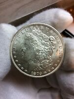 1879-S/S REV 79 VAM 54 DOUBLED 9-S/S RIGHT R5  VARIETY SILVER DOLLAR COIN