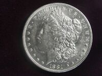 1881 O US MORGAN SILVER DOLLAR BETTER DATE 1   DETAIL WITH LUSTER