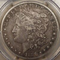 1886-S MORGAN DOLLAR PCGS CERTIFIED EXTRA FINE 40 CRUSTY ORIGINAL COIN