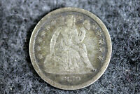 ESTATE FIND 1859  SEATED LIBERTY DIME  D25024
