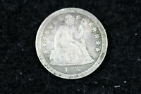 ESTATE FIND 1842 O  SEATED LIBERTY DIME  D18503