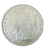 1900 MORGAN SILVER DOLLAR - ALMOST UNCIRCULATED DETAILS CLEANED