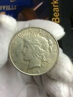 1922-P PEACE ONE DOLLAR US 90 SILVER COIN