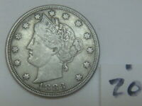 LIBERTY NICKEL 1883 NO CENTS