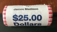 JAMES MADISON 2007 SERIES PRESIDENTIAL $1 COINS IN A ROLL