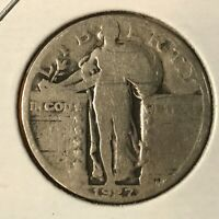 1927-D SILVER STANDING LIBERTY QUARTER COLLECTOR COIN