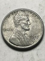 1943 D LINCOLN WHEAT CENT - LOT V222