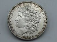 1892-S $1 US MORGAN SILVER DOLLAR  KEY DATE HIGH GRADE EXTRA FINE    COIN Z7