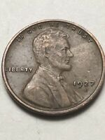 1927-D LINCOLN CENT    FINE   COIN FOR YOUR COLLECTION LOT V230