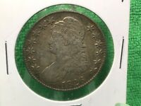1826 CAPPED BUST HALF DOLLAR LETTERED EDGE  FINE 2 AVAILABLE