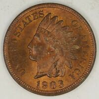 1903 INDIAN HEAD CENT.  CHOICE UNCIRCULATED RED BROWN. RAW1987/CA