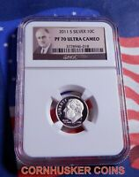 2011-S ROOSEVELT SILVER DIME  NGC PF 70 ULTRA CAMEO  THE PERFECT COIN