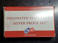 2009 US MINT SILVER PROOF SET WITH BOX/COA   US COINS