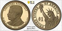 2013-S $1 THEODORE ROOSEVELT DOLLAR CHRONICLES SET PCGS PR69DCAM W/ GOLD SHIELD