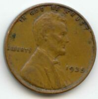 USA 1935 ONE CENT AMERICAN LINCOLN WHEAT CENT 1C EXACT COIN SHOWN