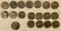 CANADIAN 5 CENTS COIN LOT BETWEEN 1940 AND 1968  LOT 20200524 005