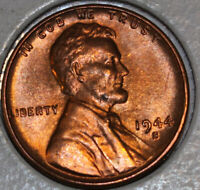 1944-S WHEAT CENT UNCIRCULATED RED [SN13]