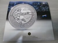 2013 CANADA HOCKEY SILVER 20 DOLLAR COIN