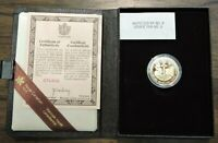 1983 ROYAL CANADIAN MINT $100 GOLD PROOF COIN W/BOX & COA