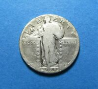 1928 STANDING LIBERTY SILVER QUARTER FOR COLLECTION OR GIFT  COMB SHIP LOT 622