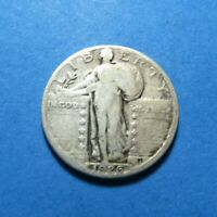 1926  STANDING LIBERTY SILVER QUARTER  COMBINED SHIP LOT 1169