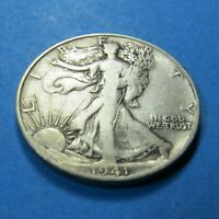 1941-S  WALKING LIBERTY HALF DOLLAR - 90 SILVER - COMBINED SHIPPING LOT 1293