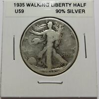 1935  WALKING LIBERTY HALF DOLLAR  FOR COLLECTION  COMBINED SHIPPING  LOT U59
