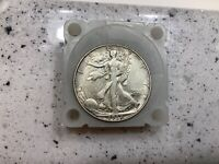 1937-D 50C WALKING LIBERTY SILVER HALF GRAND PAS COLLECTION  BETTER DATE