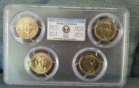2007 P&D THOMAS JEFFERSON 4 COIN SET GRADED MINT STATE 66 BY PCGS IN A BEAUTIFUL HOLDER