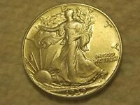 1939P  WALKING  LIBERTY  HALF  DOLLAR
