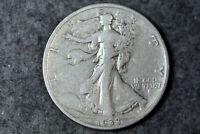 ESTATE  FIND  1933 S  WALKING LIBERTY SILVER HALF DOLLAR  D27530