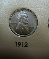1912 LINCOLN CENT BU LUSTROUS BROWN