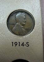 1914-S LINCOLN CENT GOOD