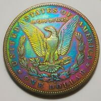 1895-S  MORGAN SILVER DOLLAR /  ONLY 400,000 MINTED . 113