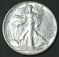 1941-S WALKING LIBERTY HALF DOLLAR 50 CENT .900 SILVER
