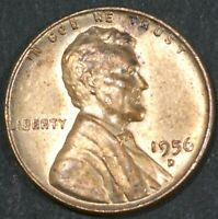 1956-D LINCOLN CENT PENNY BU   B16871